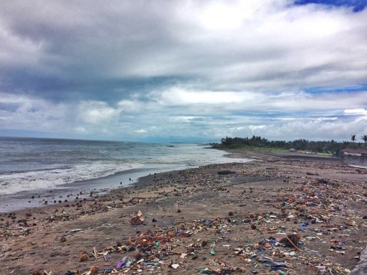 Bali Trash Beach
